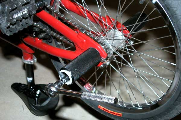 Bicycle Axle Extensions : Peg help bmxmuseum forums
